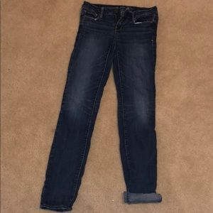Size 4 Long skinny jeans from American Eagle